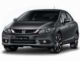 Чехлы на Honda Civic IX седан (с 2012)